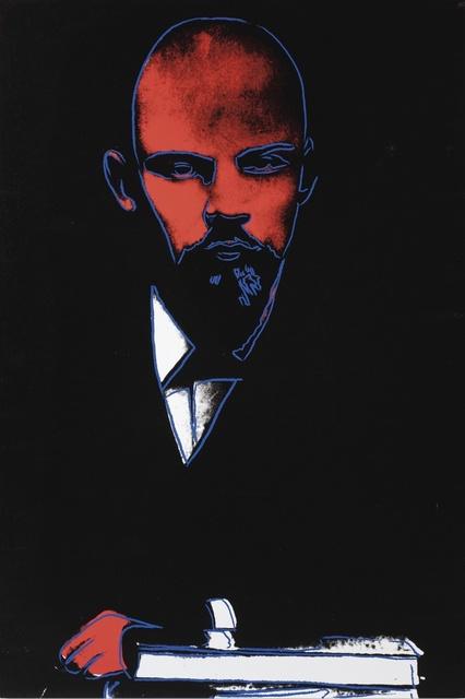 Andy Warhol, 'Black Lenin', 1987, Print, Screenprint on Arches 88 paper, OSME Fine Art