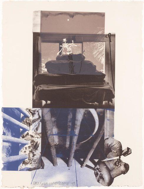 Robert Rauschenberg, 'ROOKERY MOUNDS--NIGHT TORK (GEMINI 842)', 1979, Castle Fitzjohns Gallery