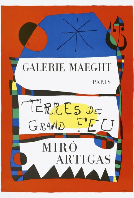 Joan Miró, 'Terres de Grand Feu', 1956, Roseberys