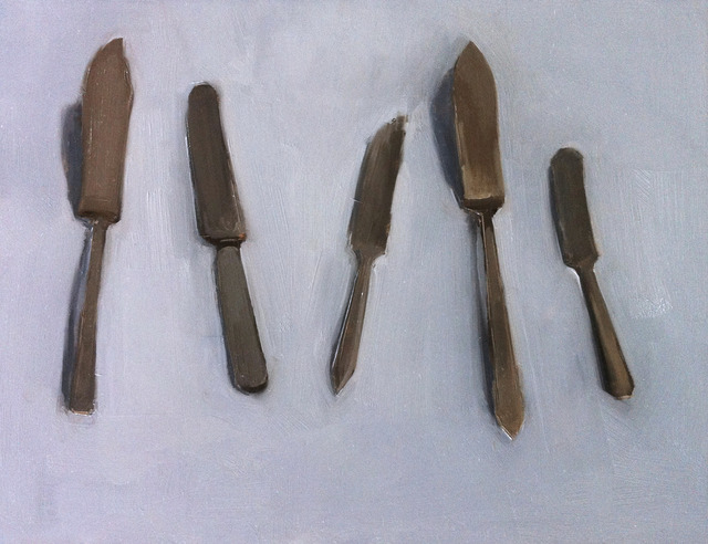 , 'Five Butter Knives,' , March