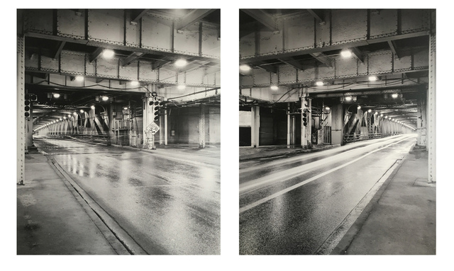Alex Fradkin, 'Train (Diptych)', Chicago Art Source