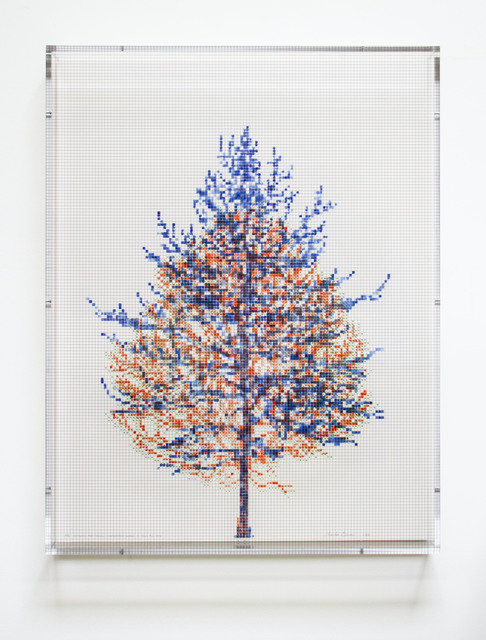, 'Numbers and Trees, Tiergarten Series 3: Tree #2, May,' 2018, Paulson Fontaine Press