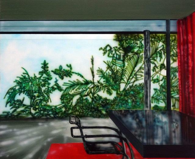 , 'Villa Tugenhadt With Red Curtain (Mies Van De Rohe),' 2019, Galleri Christoffer Egelund