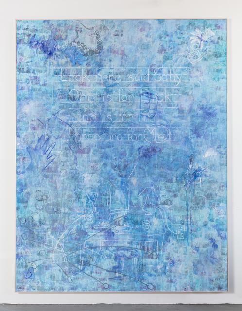 , 'Blue Valium,' 2018, Leila Heller Gallery