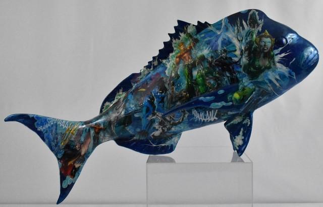 , 'Poison Bleu Comix,' 2019, European Design & Art