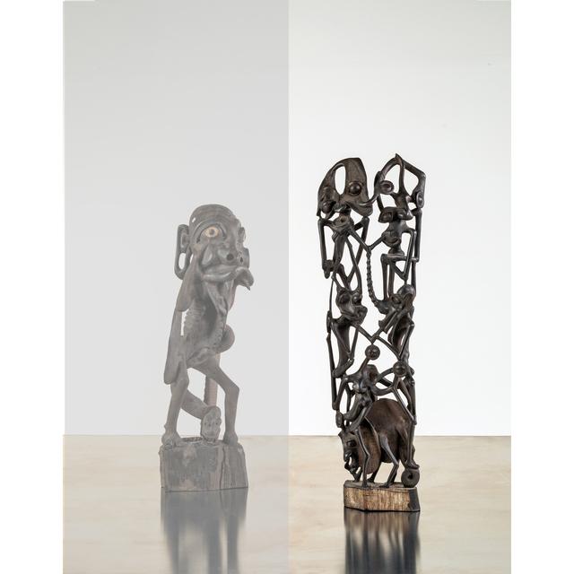 Julius Camara, 'Deux Shetanis sur un éléphant', PIASA