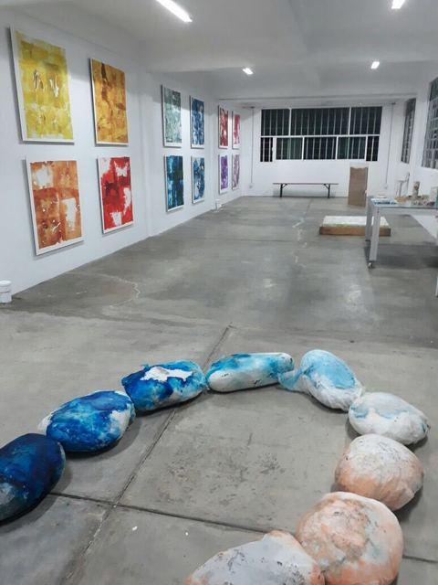 , 'Luis Carrera- Maul Studio view,' 2017, GALERÍA ETHRA