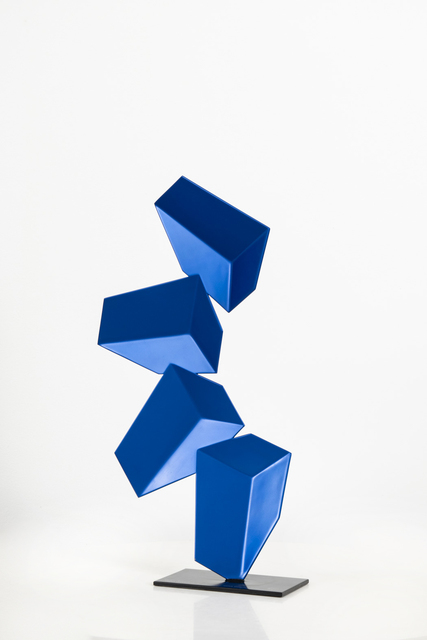 Rafael Barrios, 'Nimbus ascendente, cod: C190', 2015, Sculpture, Handcrafted and lacquered steel, GBG Arts