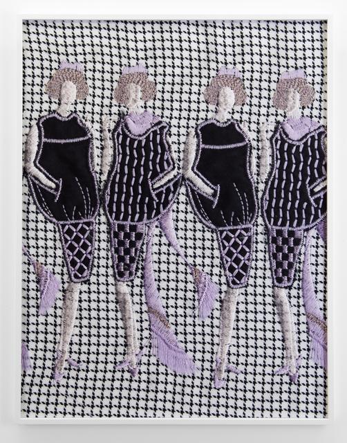 , 'Four Women (white, black, violet),' 2019, VI, VII