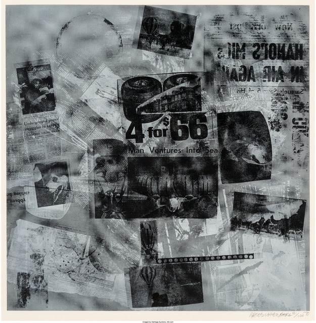 Robert Rauschenberg, 'Surface Series from Currents #40', 1970, Heritage Auctions
