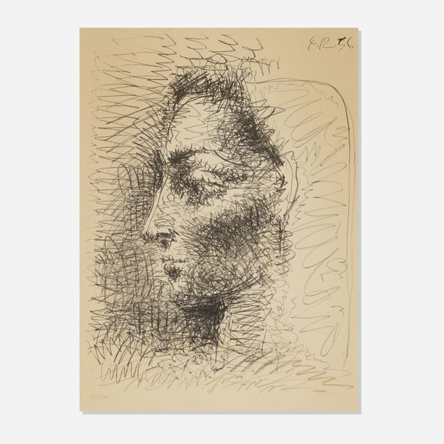 Pablo Picasso, 'Portrait de Jacqueline', 1956, Rago/Wright