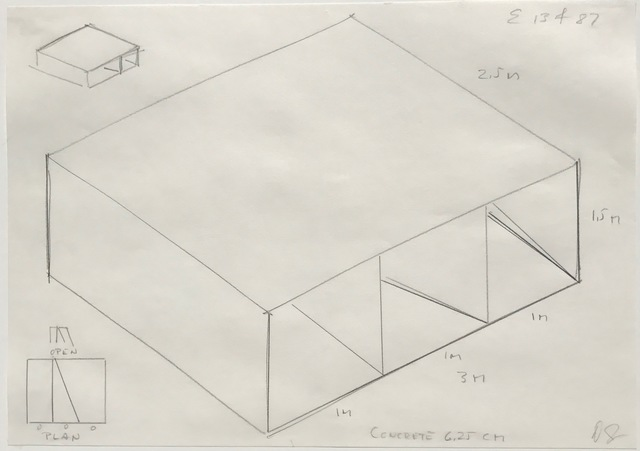 Donald Judd, 'Untitled (E 13/4/87)', 1987, inde/jacobs
