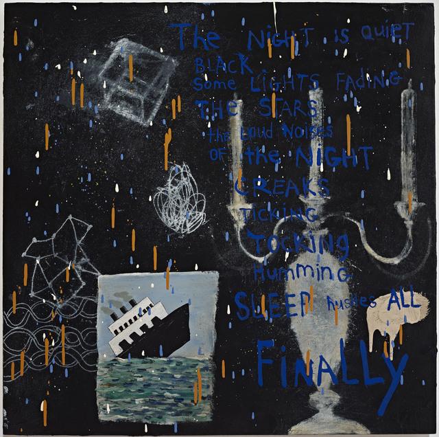 , 'Night,' 2014, Jane Lombard Gallery