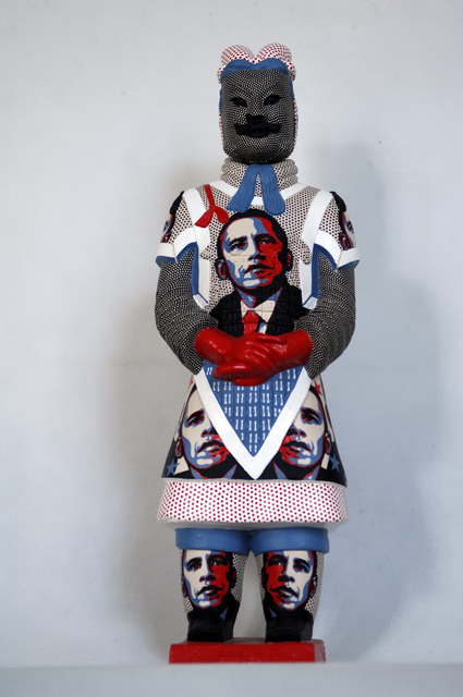 , 'Terracotta Warrior  - Obama ,' 2013, Tanya Baxter Contemporary