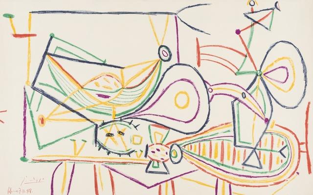 Pablo Picasso, 'Composition', 1948, Forum Auctions