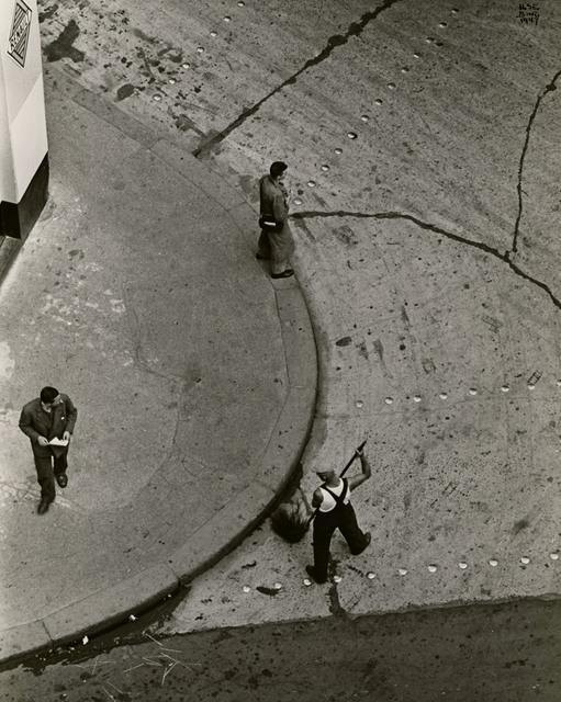 , 'Street Cleaner, Paris,' 1947, Edwynn Houk Gallery