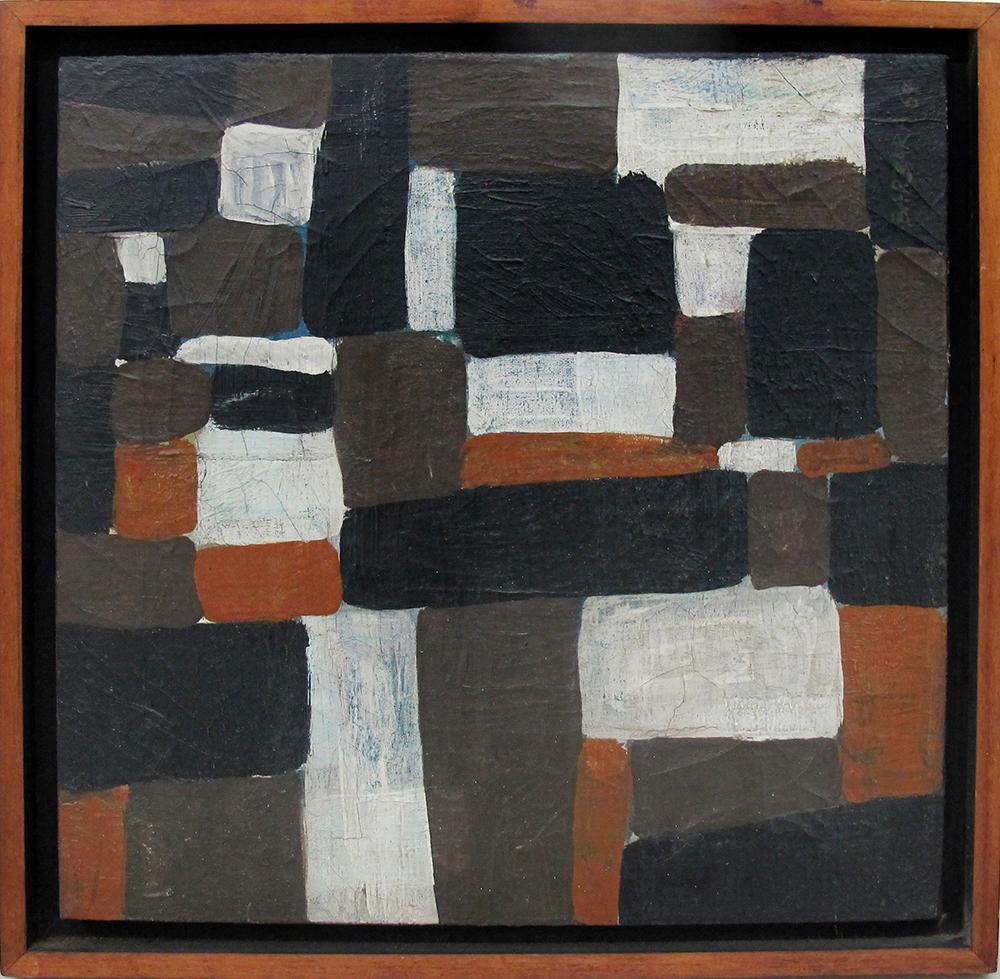Acrylic on Canvas 30X30 1964 U$ 5000,