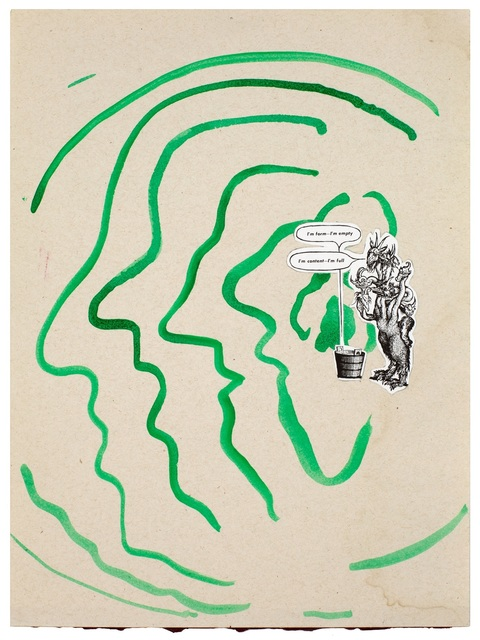 , 'Untitled (Physiognomical Changes, The Insiders, Sigmar Polke, Ad Reinhardt),' 2015, andriesse eyck galerie