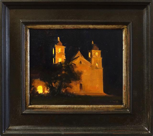Jesse Powell, 'Santa Barbara Mission', 2018, Painting, Oil on Linen, ARCADIA CONTEMPORARY