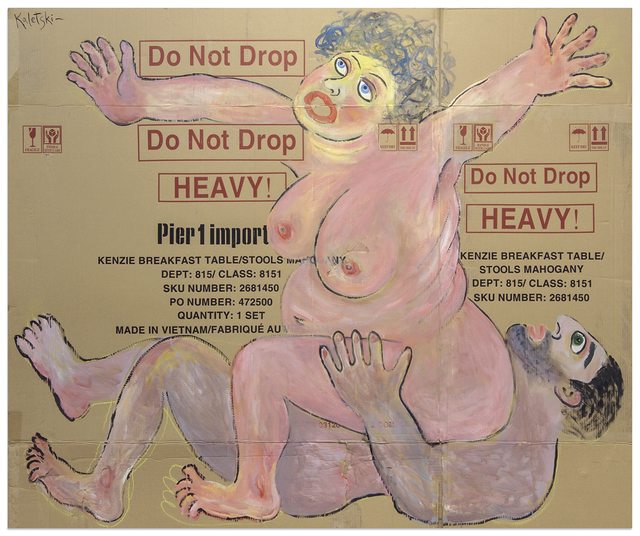 , 'Do Not Drop,' 2017, Anna Zorina Gallery