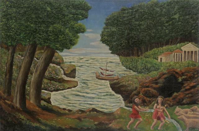 , 'Ulysse réclamant à Circé ses compagnons changés en pourceaux,' 1944, Jeanne Bucher Jaeger
