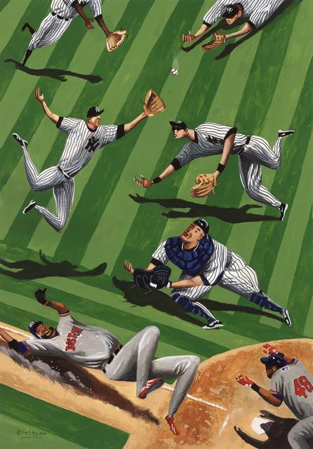 , 'Baseball Ballet,' 2015, Modernism Inc.