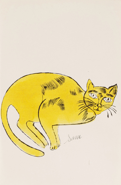 Andy Warhol, '25 Cats Name[d] Sam and One Blue Pussy IV.67', 1954, Hamilton-Selway Fine Art