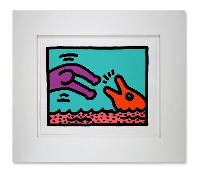 Keith Haring, 'Pop Shop V', 1989, Arttrade