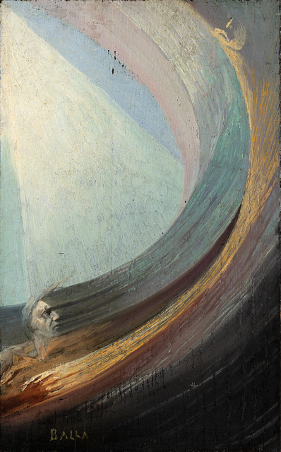 Giacomo Balla, 'Scena spirituale (uomo e donna nel fluido compenetrato di luce)', 1925-30 ca., Il Ponte