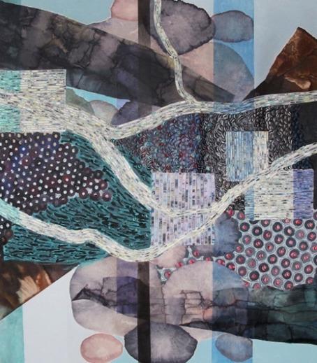 , 'Rivers of data,' 2016, Galerie Bloom