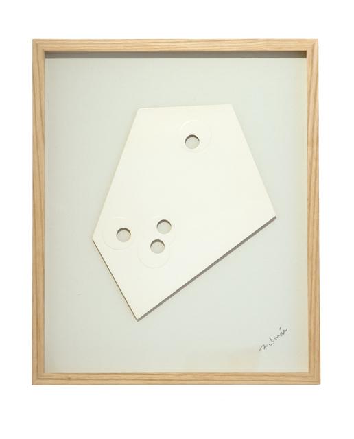 , 'White Piece-A,' 1966, ALICE BLACK
