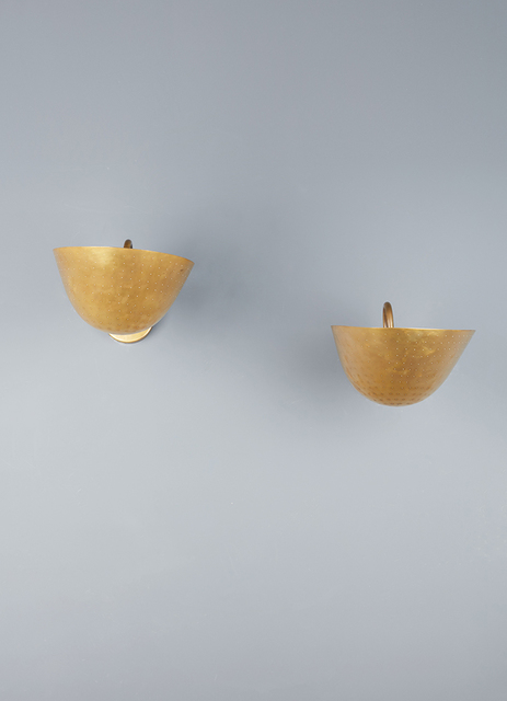 Carl Axel Acking, 'Pair of wall lights', vers 1940, Leclere
