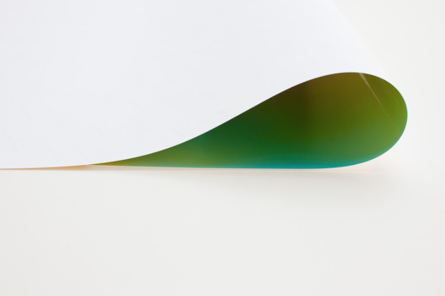 Wolfgang Tillmans, 'paper drop (green II)', 2011, Bruce Silverstein Gallery