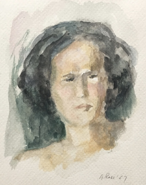 , 'Female Portrait I,' 1957, Bakker Gallery