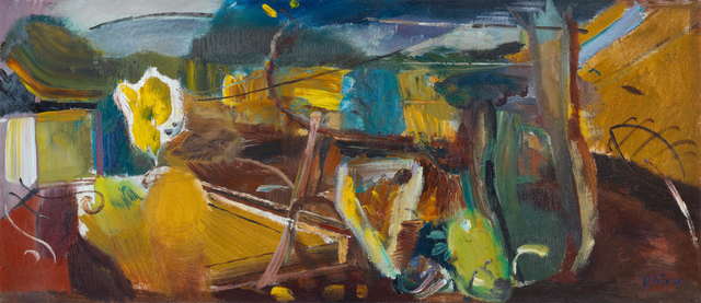 , 'Yellow Autumn from a Terrace,' 1948, Osborne Samuel