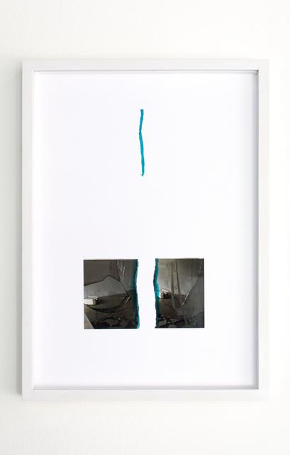 , 'Stracciafotografia,' 2009, MATÈRIA