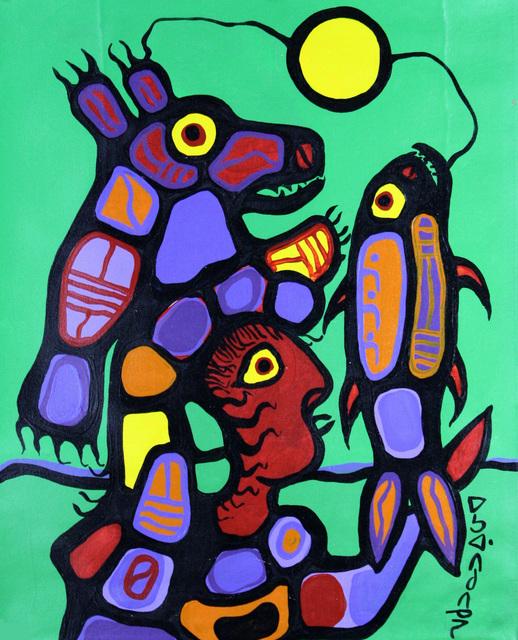 , 'Shaman Bear and Medicine,' 1977, Thompson Landry Gallery