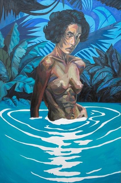 , 'Baño en la Laguna Dudu,' , Lyle O. Reitzel