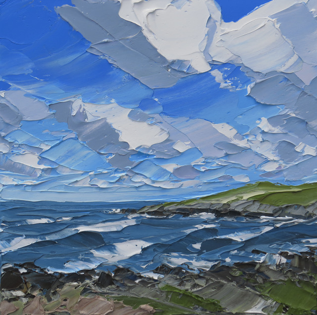 , 'Porth Trecastle, Anglesey,' 2017, Thackeray Gallery