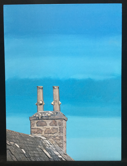 Agnes Murray, 'Roanheads Chimneys #2', 2018, Tabla Rasa Gallery
