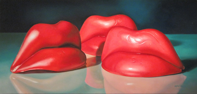 , 'Wax Lips,' 2008, Woodward Gallery