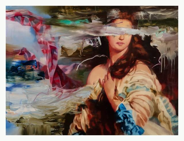 Simon Casson, 'Falderals II', 2018, Painting, Huile sur toile / Oil on canvas, Galerie de Bellefeuille