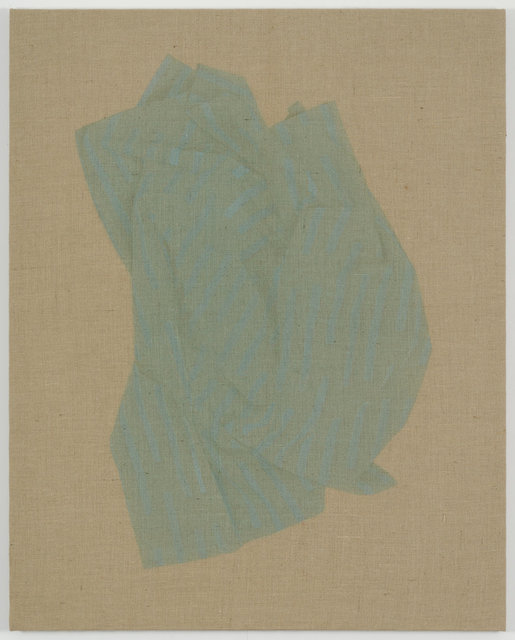 , 'Light Blue Fabric,' 2014, Galerie Rüdiger Schöttle