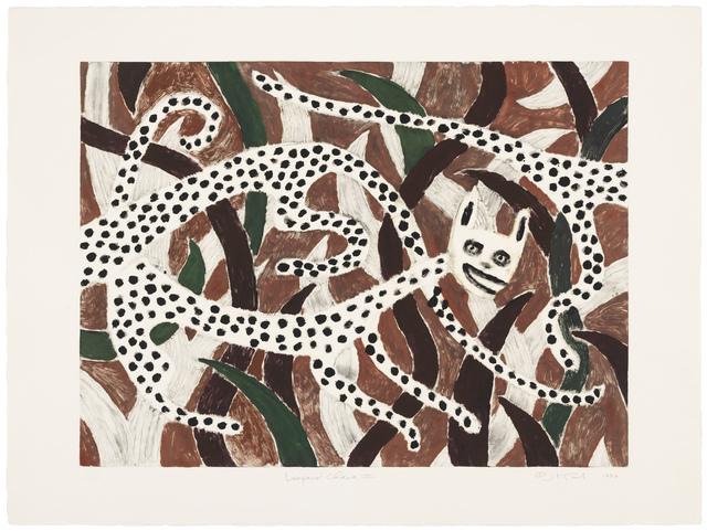 , 'Leopard Chase III,' 1990, Gallery NAGA