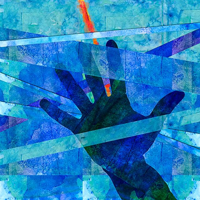 , 'Hand in Blue,' , Rimonim Art Gallery
