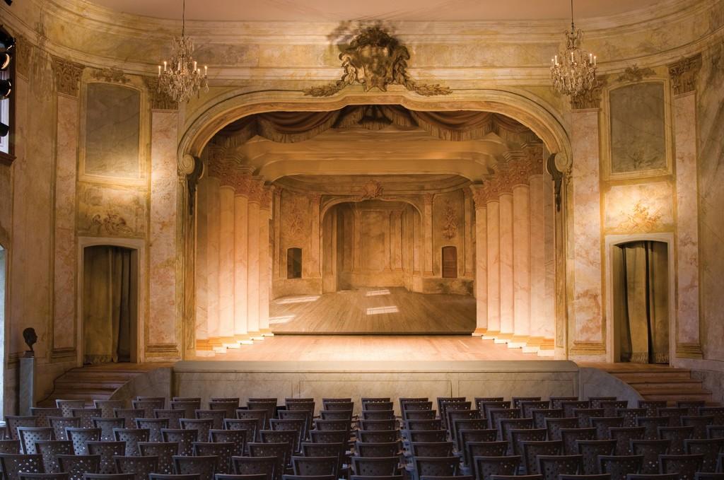Ulriksdal Palace Theatre Confidencen, interior.