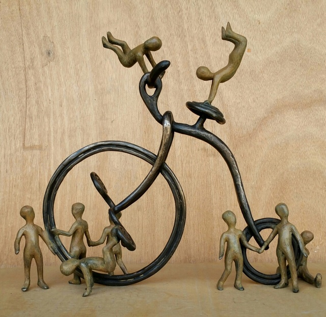 , 'Joyful Bike,' 2017, Adamar Fine Arts