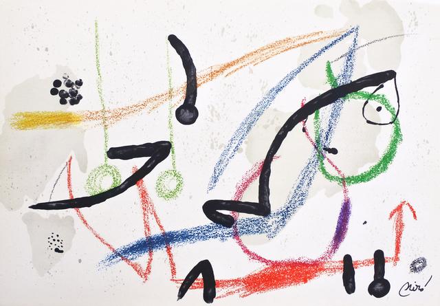 Joan Miró, 'Maravilla 7', 1975, Hans den Hollander Prints