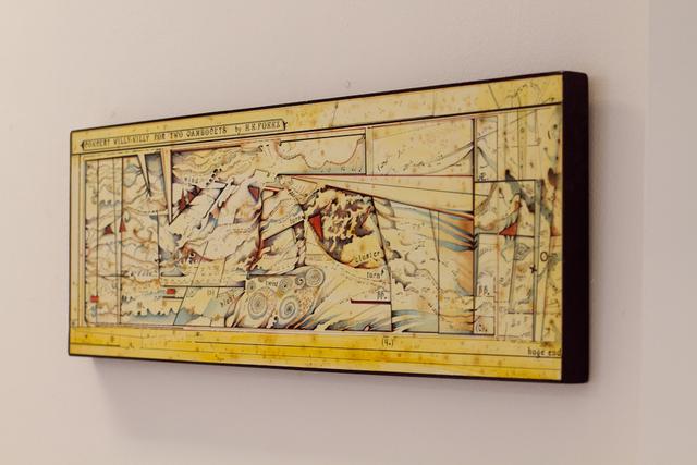 , 'Partitura para duas Gambocetas,' 2010, Casa Nova Arte e Cultura Contemporanea