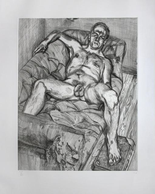 , 'Man Posing,' 1985, Emanuel von Baeyer